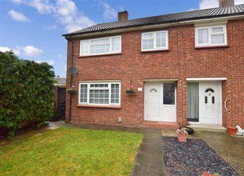 Thumbnail 3 bed semi-detached house for sale in Aspdin Road, Northfleet, Gravesend, Kent