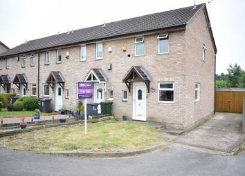 Thumbnail 2 bed end terrace house for sale in Stockdale Close, Nottingham