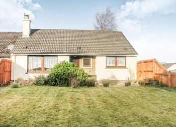 Thumbnail 2 bedroom semi-detached bungalow for sale in Sellar Place, Conon Bridge, Dingwall