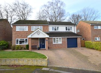 Thumbnail 4 bed detached house for sale in Gorseway, Fleet