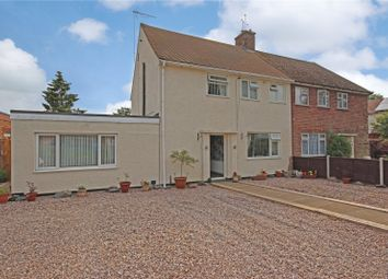 Thumbnail 3 bed semi-detached house for sale in Ferrers Road, Lutterworth, Leicestershire