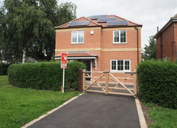 Thumbnail 3 bed detached house for sale in Sleaford Road, Beckingham, Lincoln