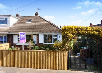 Thumbnail 2 bed semi-detached bungalow for sale in Longfield Road, Grimsby