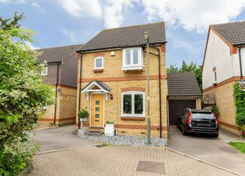 Thumbnail 3 bed detached house for sale in Fernihough Close, Weybridge, Surrey