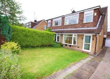 Thumbnail 3 bed semi-detached house for sale in Valley Road, Heaton Moor, Stockport