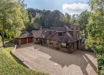Thumbnail 5 bed detached house for sale in Old Frensham Road, Lower Bourne, Farnham, Surrey