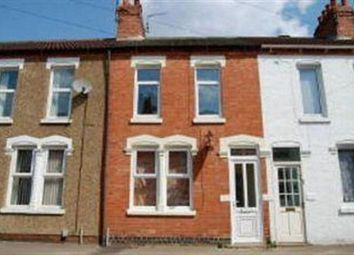 Thumbnail 3 bedroom terraced house to rent in Thirlestane Road, Far Cotton, Northampton