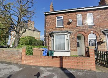 Thumbnail 3 bed terraced house for sale in Grovehill Road, Beverley
