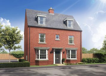 "Thumbnail 4 bed detached house for sale in ""Hertford"" at Stockton Road, Long Itchington, Southam"