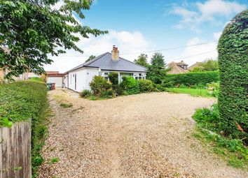 Thumbnail 3 bed detached bungalow for sale in High Street, Maxey, Peterborough