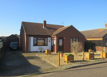 Thumbnail 2 bed detached bungalow for sale in Cricketers Walk, Freethorpe, Norwich
