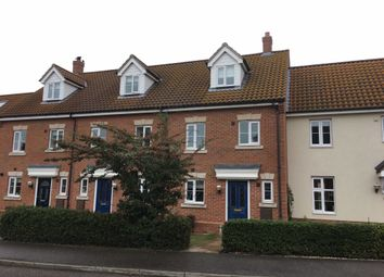 Thumbnail 3 bedroom town house to rent in Kendall Close, Bury St. Edmunds