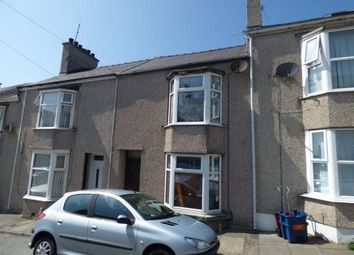 Thumbnail Terraced house for sale in Lligwy Street, Holyhead, Sir Ynys Mon