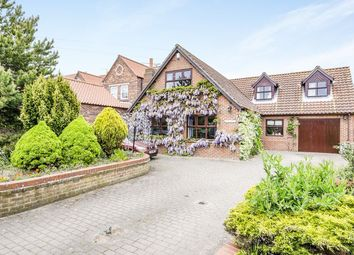 Thumbnail 4 bedroom detached house for sale in Main Street, Skipwith, Selby