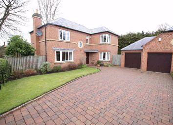 Thumbnail 4 bed detached house for sale in The Woodlands, Milbank Road, Darlington