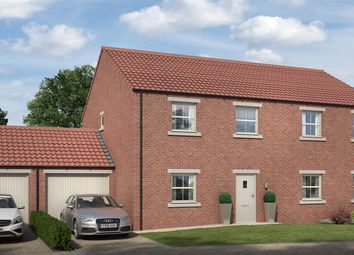 Thumbnail 3 bed semi-detached house for sale in Rokesby Place, Pickhill, Thirsk