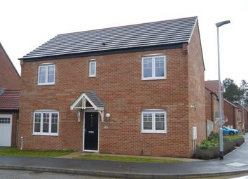 Thumbnail 4 bed detached house for sale in Cuthbert Way, Morpeth