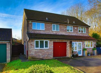 Thumbnail 3 bed semi-detached house to rent in Sandpiper Close, St. Mellons, Cardiff