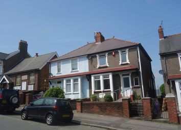 Thumbnail 3 bedroom semi-detached house to rent in Barry Road, Barry