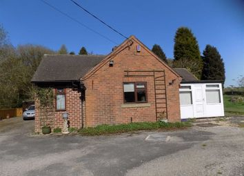Thumbnail 2 bed detached bungalow for sale in Chapel Lane, Threapwood, Cheadle, Stoke-On-Trent