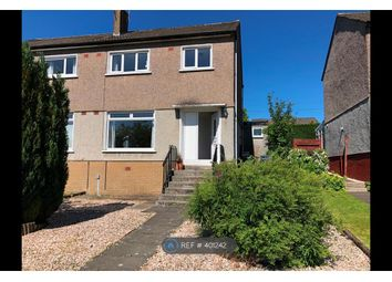 Thumbnail 3 bed semi-detached house to rent in Alva Gardens, Bearsden