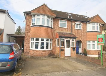 Thumbnail 3 bed semi-detached house for sale in Lansdowne Road, Staines-Upon-Thames, Surrey