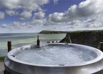 Thumbnail 2 bed detached house for sale in Keepers Lodge, Fishguard Bay Resort, Dinas Cross, Newport