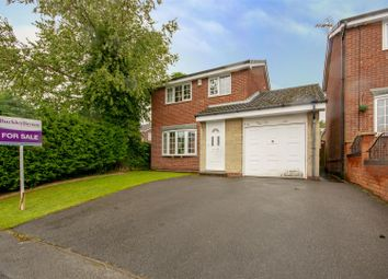 Thumbnail 3 bed detached house for sale in Heatherley Drive, Forest Town, Mansfield