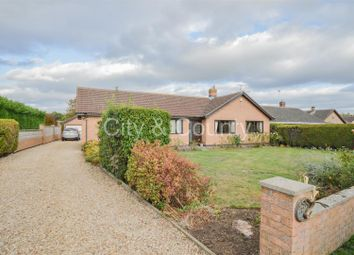 Thumbnail 3 bed detached bungalow for sale in The Chase, Crowland, Peterborough