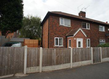Thumbnail 2 bed semi-detached house to rent in Burnside Street, Alvaston, Derby