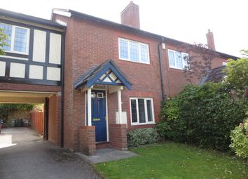 Thumbnail 2 bed mews house for sale in Claremont Close, Kingsmead, Northwich, Cheshire