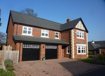 Thumbnail 5 bed detached house for sale in Oak Mount Court, Northallerton