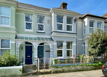 Thumbnail 4 bed terraced house for sale in College View, Mutley, Plymouth