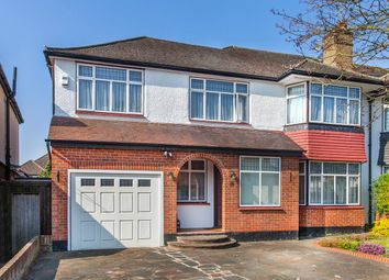 Thumbnail 5 bed semi-detached house for sale in Hillersdon Avenue, Edgware, London