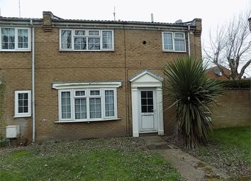 Thumbnail 3 bedroom end terrace house to rent in St Davids Close, Worksop, Nottinghamshire