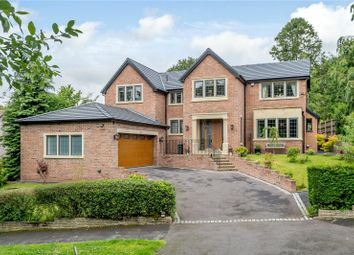 Thumbnail 5 bed detached house for sale in Brocklehurst Drive, Prestbury, Macclesfield, Cheshire