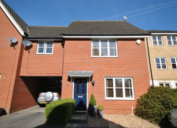 Thumbnail 3 bed end terrace house for sale in Audax Road, Old Catton, Norwich