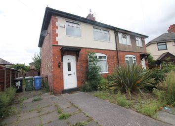 Thumbnail 3 bed semi-detached house to rent in Lancaster Avenue, Urmston, Manchester