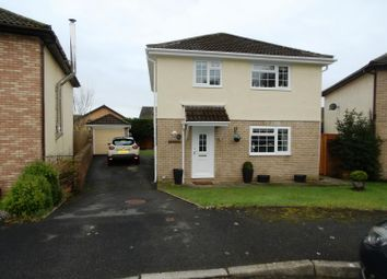 Thumbnail 4 bed detached house for sale in Woodstock Gardens, Pencoed, Bridgend