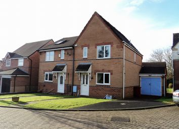 Thumbnail 3 bed semi-detached house for sale in Tippet Close, Blackburn