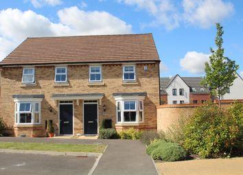 Thumbnail Semi-detached house for sale in Bacchus Lane, Fairfields, Milton Keynes