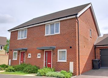 Thumbnail 2 bed semi-detached house to rent in Bisley Crescent, Upper Cambourne, Cambridge