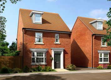 "Thumbnail 4 bedroom detached house for sale in ""Donnington"" at St. Lukes Road, Doseley, Telford"