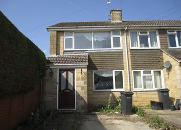 Thumbnail 2 bed end terrace house to rent in Aldsworth Close, Fairford