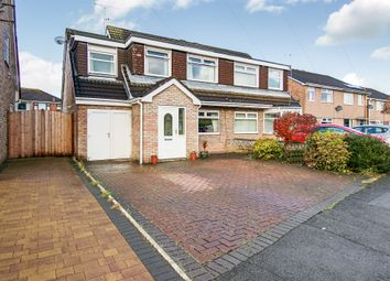 Thumbnail 4 bed semi-detached house for sale in Budworth Road, Great Sutton, Ellesmere Port