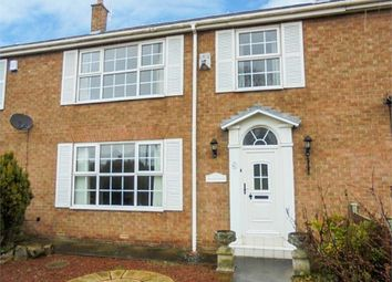 Thumbnail 4 bed terraced house for sale in The Green, High Coniscliffe, Darlington, Durham