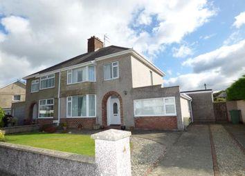 Thumbnail 3 bed semi-detached house for sale in Meadow Drive, Porthmadog, Gwynedd