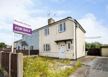 Thumbnail 2 bed semi-detached house for sale in Savile Road, Bilsthorpe, Newark