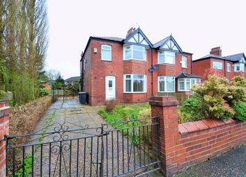 Thumbnail 3 bed semi-detached house to rent in Victoria Road, Salford
