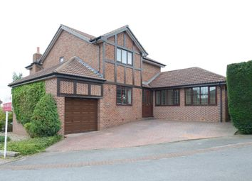 Thumbnail 4 bedroom detached house for sale in Bishopdale Drive, Mosborough, Sheffield